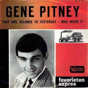 Gene Pitney - That girl belongs to yesterday