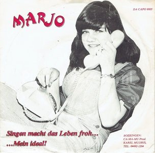 Marjo - Singen macht das leben froh