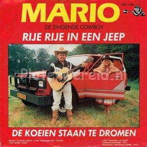 Mario (de zingende cowboy) - Rije rije in een jeep