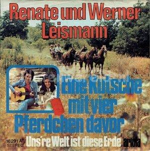 Renate und Werner Leismann - Eine kutsche mit vier pferdchen davor