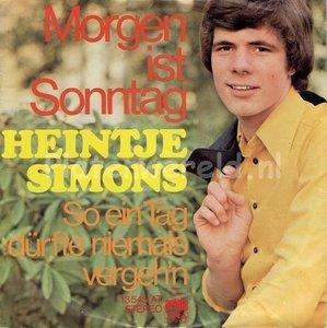 Heintje Simons - Morgen ist sonntag