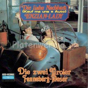 Zwei Tiroler Fenneberg Moser - Enzian lady
