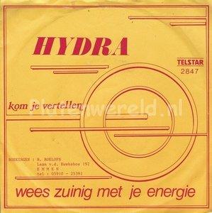 Hydra - Wees zuinig met je energie