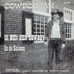Cowboy Jan - Ik ben een Cowboy