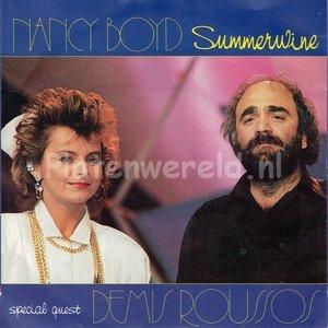 Nancy Boyd whit Demis Roussos - Summerwine