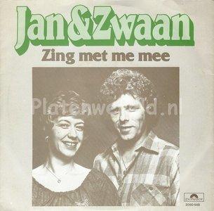Jan en Zwaan - Zing met me mee