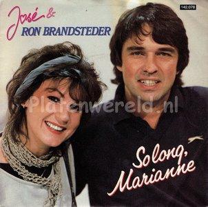 José & Ron Brandsteder - So long Marianne