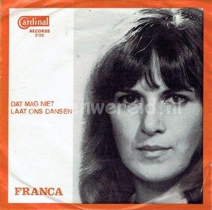 Franca - Dat mag niet