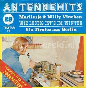 Marliesje en Willy Vincken - Wie lustig is't im winter