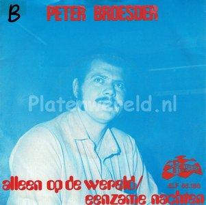 Peter Broesder - Alleen op de wereld