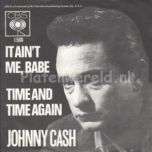 Johnny Cash - It ain't me baby