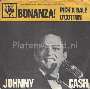 Johnny Cash ‎– Bonanza